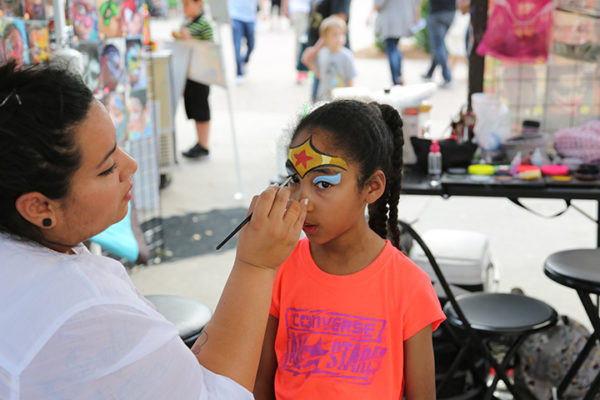 Holiday Festival Face Painting